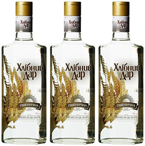 Chlebnyi Dar Pschenitschnaya Wodka (3 x 0.5 l)