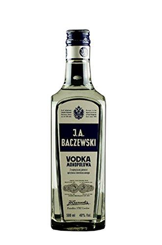 J.A. Baczewski Vodka Monopolowa | 0,5 L | 40% | Polnischer Premiumwodka